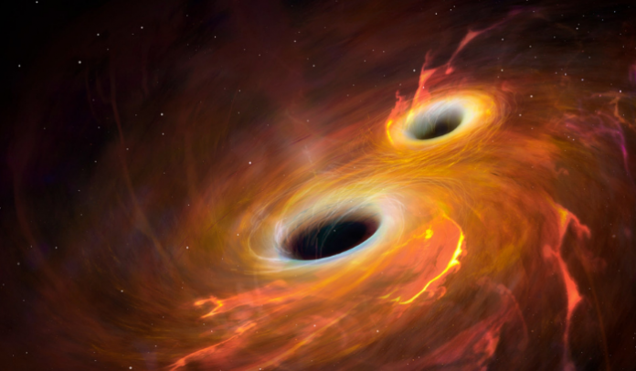 Black hole 142 times bigger than the Sun arises from space collision