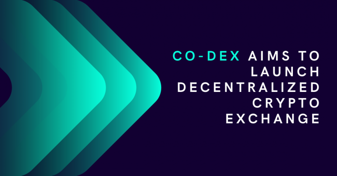 Co-Dex Aims to Launch Decentralized Crypto Exchange at the Turn of the Year